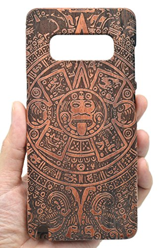VolksRose Samsung Galaxy Note 8 Wooden Case - Rosewood Maya - Premium Quality Natural Wooden Case for Your Smartphone and Tablet