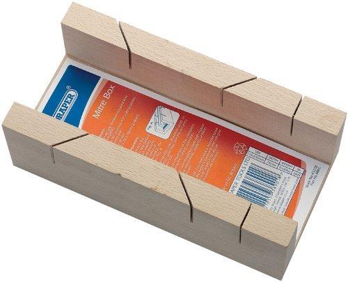 Draper 45238 230MM BEECHWOOD MITRE BOX by Draper