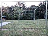 Kyпить Batting Cage Frame Kit 10' x 12' x 50' EZ UP & DOWN Baseball Softball Frame Kit на Amazon.com
