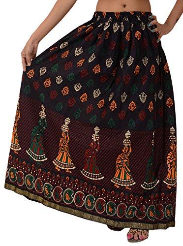 Skirts & Scarves - Pantalón - para mujer Black & Multi