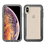 clip for pelican case - Pelican Voyager iPhone Xs Max Case (Clear/Grey)