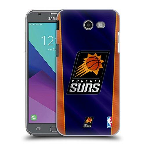 Official NBA Banner Phoenix Suns Hard Back Case for Samsung Galaxy J3 Emerge (Case Phone Cellular Suns Phoenix)