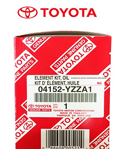 GENUINE TOYOTA OIL FILTER with WRENCH ASPG ZTOOL PREMIUM for 2.5L 3.5L to 5.7L Engines - Perfect for Camry, RAV4, Highlander, Sienna, Tundra and More - Fits 64mm Cartridge Style Oil Filter Housings by APSG (Image #1)