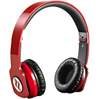 [Cnet Pick] Noontec ZORO HD On Ear Headphones Audiophile Hi-Fi Sound SCCB Acoustic Technology Foldable Light Weight - Red