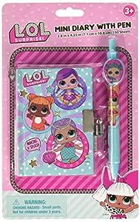 LOL sorpresa! Mini diario con bolígrafo para niñas