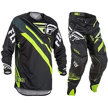 Motocross MX Dirt 2019 Fly Racing Lite Hydrogen ADULT Jersey Pant Gear Combo