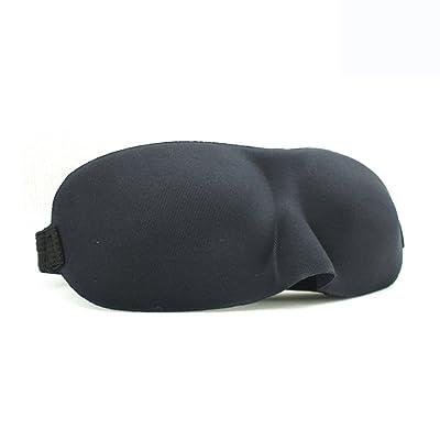 HUANQIN Le masque d'oeil d'enfant vont au lit siesta confortable et respirant bloquent le soleil 6-12 ans