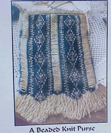 Celeste Beaded Knit Purse Pattern by Barbara Pratt