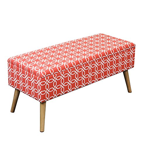 orange storage ottoman - 6