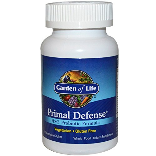 Garden of Life, Primal Defense, HSO Probiotic Formula, 90 Vegetarian Caplets