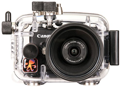 Ikelite Underwater Camera Housing, Clear (624210) by Ikelite