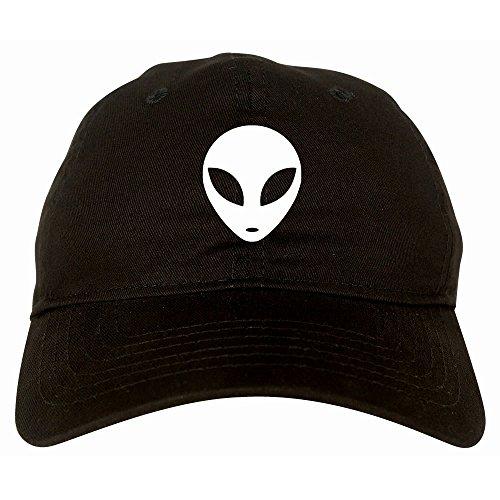 alien head 6 panel dad hat cap