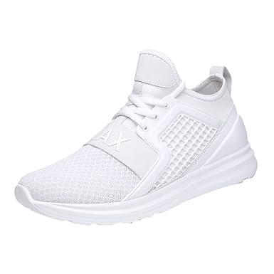 ZARLLE_Zapatos Zapatos para Hombre Running Deportivas para Correr Hombre Ocio Aire Libre y Deporte Zapatillas Gimnasia Padel para Hombre Transpirable ...