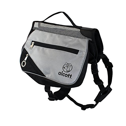 Alcott Adventure Backpack for Dogs, Reflective & Insulated, Medium (Pack Apl)