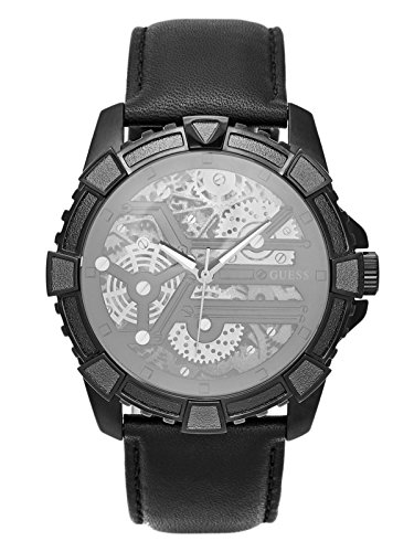 GUESS-Factory-Mens-Black-Powerhouse-Watch
