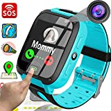 Kids Phone Smart Watch for 3-12 Year Old HD Touch Screen GPS Tracker 2019 New Year Novetly Gifts SOS...