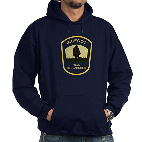 CafePress Bigfoot Field Researcher Hoodie (Dark) Pullover Hoodie, Classic & Comfortable Hooded Sweatshirt Navy