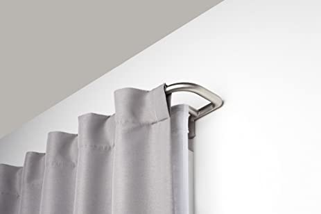 Amazon.com: Umbra Twilight Double Curtain Rod Set – Wrap Around ...