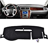 2008 suburban dash cover - XUKEY Dashboard Cover For Chevrolet Tahoe Suburban 2007-2013 Dash Cover Mat