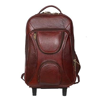 d7c4def760 C Comfort Laptop Trolley Backpack Brown  Amazon.in  Bags