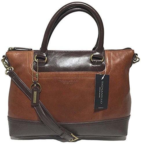 tignanello-smooth-operator-satchel-rust-dark-brown