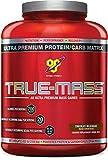 Health & Personal Care : BSN TRUE-MASS Weight Gainer, Muscle Mass Gainer Protein Powder, Chocolate Milkshake, 5.82 Pound