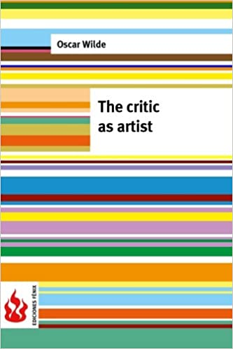 low cost The critic as artist: limited edition