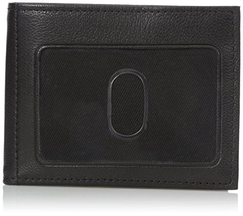 Buxton Men's Mountaineer Credit Card Billfold, Black, One Size ()