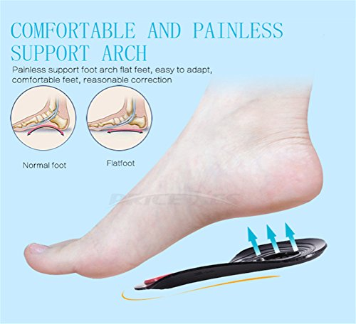 O/X Type Leg Orthopedic Insole, Correction Orthotic Support Heel Inserts, Feet Corrective Pads(L) by Price Xes (Image #8)