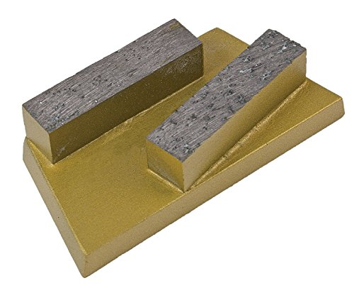 CS Unitec 37122 Diamond Inserts for Concrete, fits EBS 235.1 Floor Grinder, Gold, (Pack of 5)