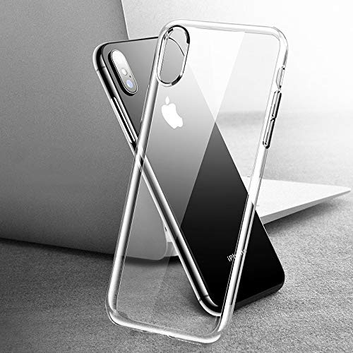 Fitted Cases - Silicone Phone Case for iPhone Xs Max Xr X R 8 7 6 6s S Plus 5 5s TPU Back Cover for iPhone 8plus 7plus Coque Fundas - for iPhone 8_Transparent - Sexy Fridge Sideways]()