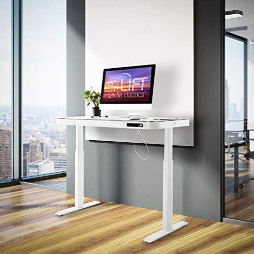 Best home office desk: Seville Classics airLIFT Computer Desk Table