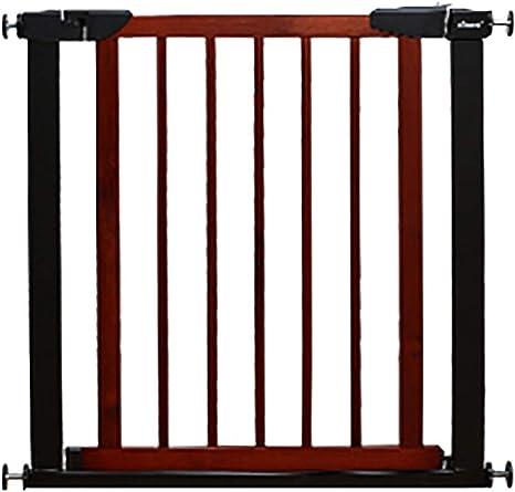 Puertas de seguridad para niños Barrera para niños Puerta Puerta Puertas para escaleras Puerta para bebés con puerta para mascotas (Tamaño: 75-82cm): Amazon.es: Bebé