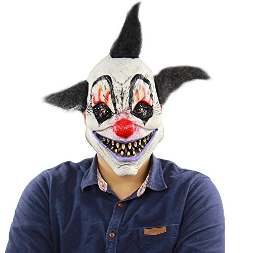 Halloween Costumes Stores In Ri (Xiao Chou Ri Ji Halloween Scary Latex mask Party Costume Party's Evil Clown)