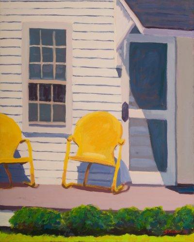 Splendid Cape Yellow (Cape Cod Porch)