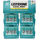 Listerine Cool Mint Pocketpaks Breath Strips, 12-24-Strip Pack total 288 strips