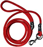 Weiss Walkie No Pull Dog Leash, Large, Red