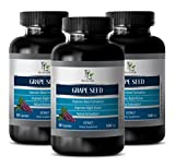 Product review for Vitamins for immune system - GRAPE SEED EXTRACT - Supplement for blood circulation - 3 bottles 90 capsules