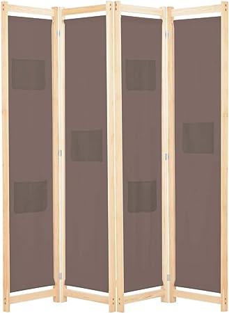 Paravent 4 teilig Sichtschutz Raumteiler Trennwand