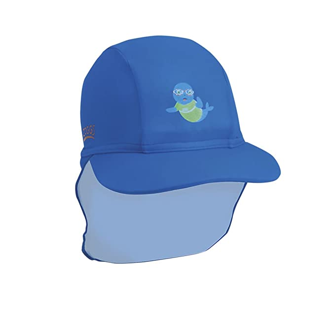87e02384515 Zoggs Boys Hat with Sun Protection UPF50+ from Harmful Rays - Blue ...