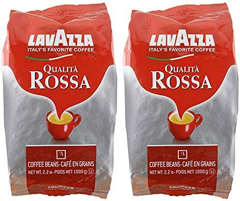 Coffee: Lavazza Qualità Rossa