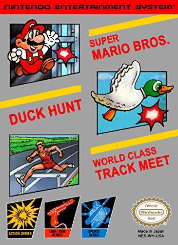 3-in-1 Super Mario Bros. / Duck Hunt / World Class Track Meet (Renewed) (Mario Bros And Duck Hunt Nintendo)