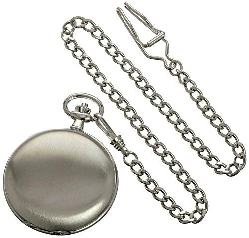 Charles-Hubert-Paris-3974-W-Classic-Collection-Analog-Display-Japanese-Quartz-Pocket-Watch