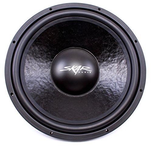 Skar Audio IVX-15v2 D2 15'' 800W Max Power Dual 2 Ohm Subwoofer by Skar Audio