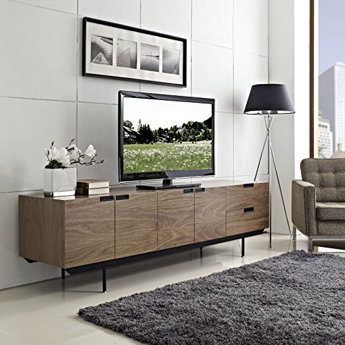 Amazon Com Modway Herald Flat Screen Tv Stand Credenza Sideboard