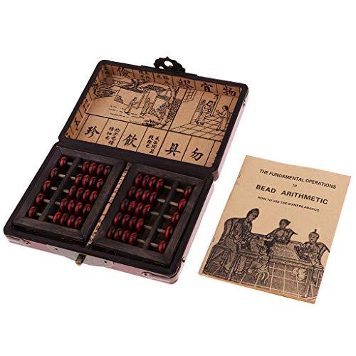 Flameer Ábaco 5 Dígitos Abacus Juguetes Educativos