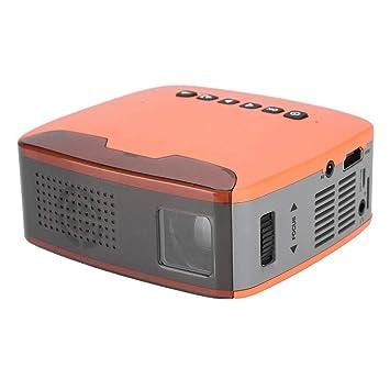Hongzer Mini proyector, Proyector portátil de 1080p HD para ...