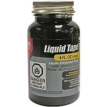Gardner Bender LTB-400 Liquid Electrical Tape, Easy-on, Waterproof, Indoor/Outdoor Use, 4 Oz. Jar, Black