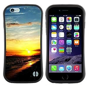 "Hypernova Slim Fit Dual Barniz Protector Caso Case Funda Para Apple (5.5 inches!!!) iPhone 6 Plus / 6S Plus ( 5.5 ) [Sunset Beautiful Nature 111""]"