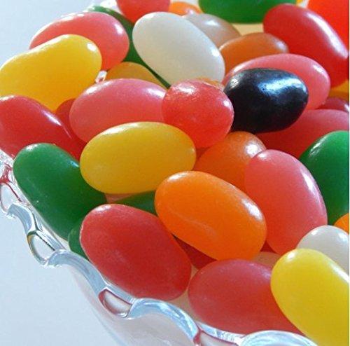 Jumbo Spiced Jelly Beans 32 OUNCES - 2 Pounds Bulk Spicy Jel